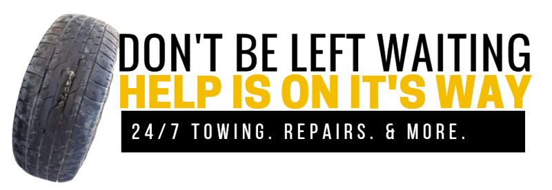 24/7 towing, repairs and more