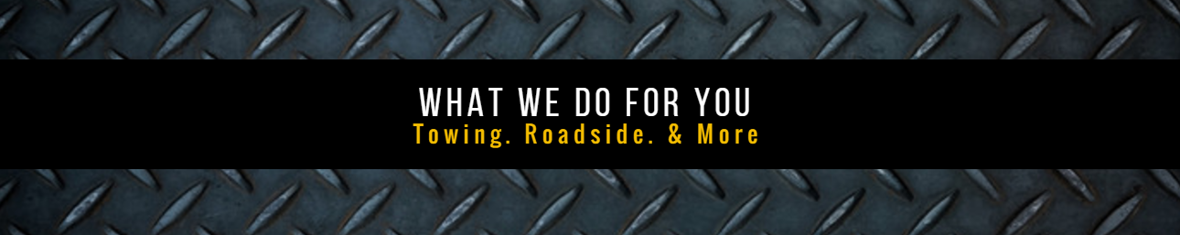 24/7 towing and roadside assistance